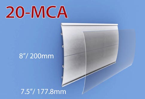 20cm de ancho (Vertical)