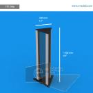 TR11SAp - 150 cm de alto x 30 cm de ancho