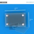 WFP156ch - 21.6 cm de ancho x 14 cm de alto