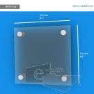 WFP157ch - 21.6 cm de ancho x 21.6 cm de alto