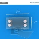 WFP23ch - 15 cm de ancho x 7.5 cm de alto