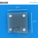 WFP30ch - 15 cm de ancho x 15 cm de alto