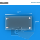 WFL35ch - 50 cm de ancho x 15 cm de alto