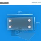 WFP56ch - 21 cm de ancho x 10 cm de alto