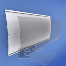 Modulo de 20cm Curvo de Aluminio