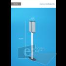 DSP2c-21cm de Ancho por 116cm de alto