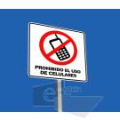 PB-SR-172 61x61cm Prohibido celulares