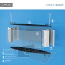 SUSVL29c-60cm de ancho por 23cm de alto.