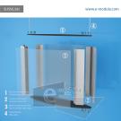 SUSVL32c-60cm de ancho por 50cm de alto