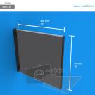 WBD15p - 40 cm de ancho x 40 cm de alto