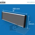 WFL11p - 20 cm de ancho x 6 cm de alto