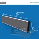 WFL12p - 25 cm de ancho x 6 cm de alto