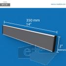 WFL14p - 35 cm de ancho x 6 cm de alto
