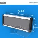 WFL1p - 7.5 cm de ancho x 3 cm de alto