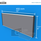 WFL32p - 40 cm de ancho x 15 cm de alto