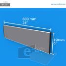 WFL34p - 60 cm de ancho x 15 cm de alto