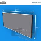 WFL40p - 40 cm de ancho x 18 cm de alto