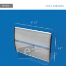 WFL44c-21cm de alto por 29.8cm de ancho