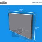 WFL45p - 29.7 cm de ancho x 21 cm de alto