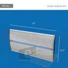 WFL46c-21cm de alto por 45.7cm de acho
