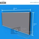 WFL48p - 50 cm d ancho x 21 cm de alto