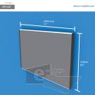 WFL50p - 27.94 cm de ancho x 21.6 cm de alto