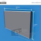 WFL51p - 35 cm de ancho x 21.6 cm de alto