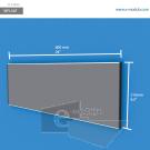 WFL54p - 60 cm de ancho x 21.6 cm de alto