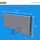 WFL59p - 70 cm de ancho x 27 cm de alto