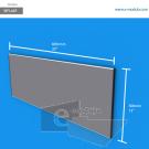 WFL64p - 80 cm de ancho x 30 cm de alto