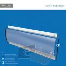 WFVLL15c-50cm de alto por 182cm de ancho