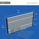 WFP100p - 12 cm de alto x 18 cm de ancho