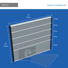 WFP101p - 18 cm de alto x 18 cm de ancho