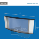 WFP124c-50cm de Ancho por 25cm de alto