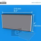 WFP131p - 10 cm de alto x 21.6 cm de ancho
