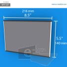 WFP134p - 14 cm de alto x 21.6 cm de ancho