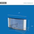 WFP140c-60cm   de Ancho por 35.5cm de alto