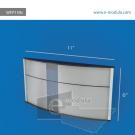WFP159c-28cm de Ancho por 15cm de alto