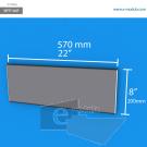 WFP160p - 20 cm de alto x 57 cm de ancho
