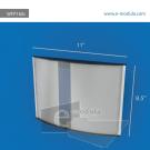 WFP160c-28cm de Ancho por 21.5cm de alto