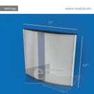 WFP164c-28cm de Ancho por 28cm de alto