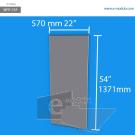 WFP173p - 137.1 cm de alto x 57 cm de ancho