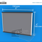 WFP17p - 10 cm de alto x 15 cm de ancho