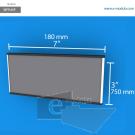 WFP45p - 7.5 cm de alto x 18 cm de ancho