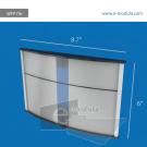 WFP79c-21.5cm de Ancho por 15cm de alto