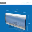 WFVLL11c-40cm de alto por 91cm de ancho