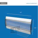 WFVLL1c-25cm de alto por 45cm de ancho