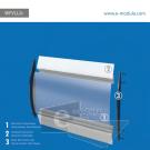 WFVLL2c-25cm de alto por 60cm de ancho