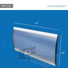 WFVLL20c-70cm de alto por 152cm de ancho