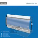 WFVLL3c-25cm de alto por 76cm de ancho